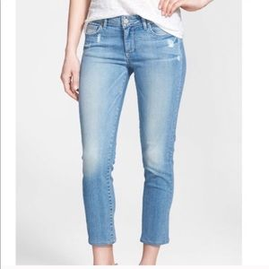 PAIGE Kylie Crop Jeans in Drew Wash Size 29